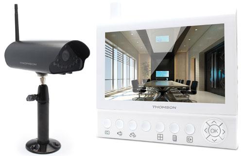 Vidéosurveillance : Avidsen lance une gamme sous la marque Thomson