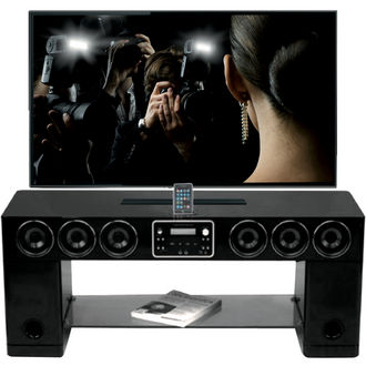 un meuble home cinema innovant le soundvision sv 400. Black Bedroom Furniture Sets. Home Design Ideas
