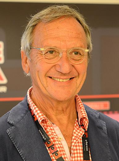 Jean-Marie Hubert, président de Spat, organisateur du Festival Son & Image.