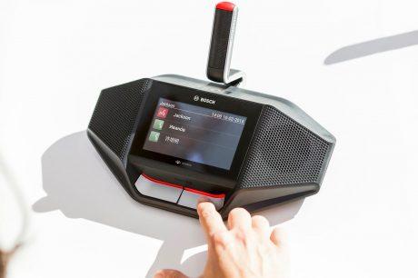 Sûreté / Sécurité : Sidev distribuera les gammes audio de Bosch