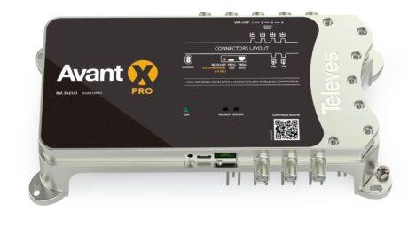 Avant X : la nouvelle gamme d'amplificateurs TNT de Televes est prête pour le DVB-T2